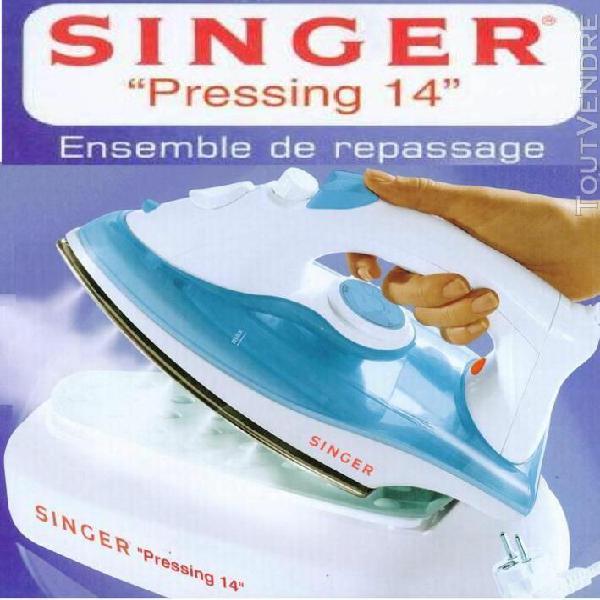 Singer singer pressing 14 - fer à repasser vapeur 1600w