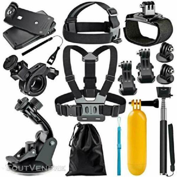 Accessoires de caméra de sport pour gopro hero akaso ek5000