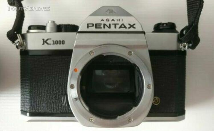 Appareil photo pentax k 1000+accessoires