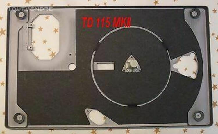 Chassis et palier pour thorens td 115 mkii mk2 - chassis & b