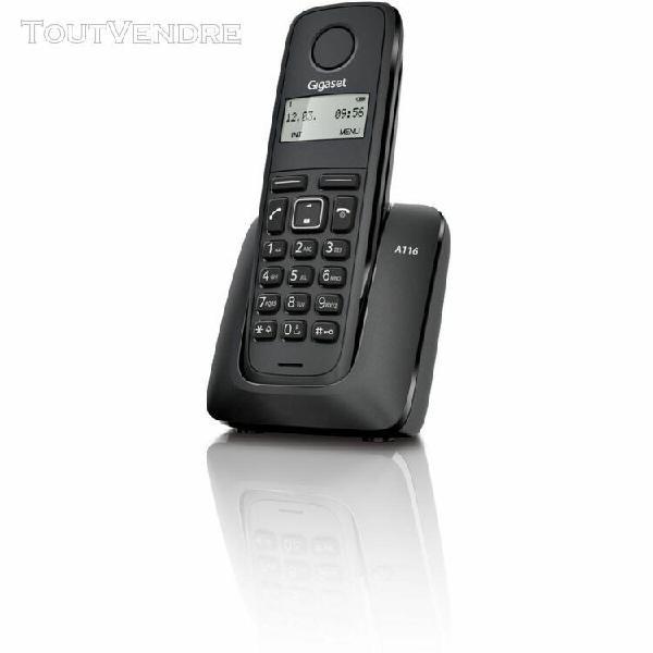 Gigaset téléphone gigaset a116 noir