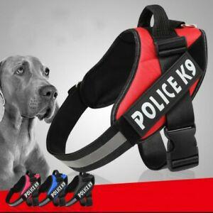 Harnais chien promenade anti-etranglement protection confort