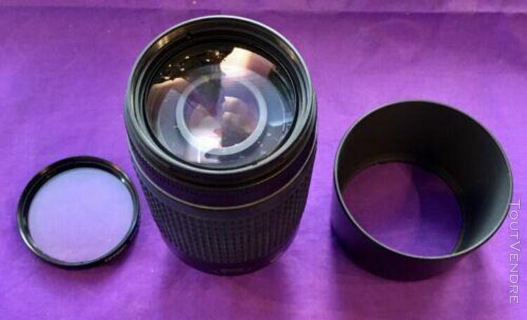 Objectif nikon nikkor zoom af 70-300mm 1:4-5.6 g avec filtre