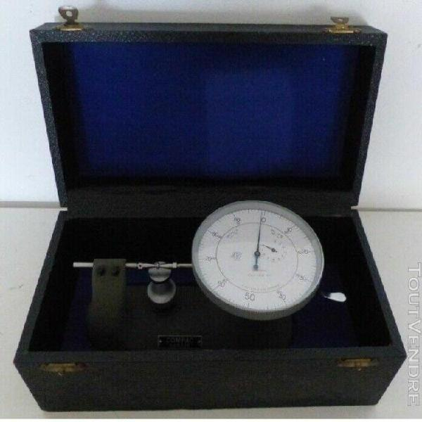 Outil d'horloger compaq suisse mesure 0.001mm tour horloger