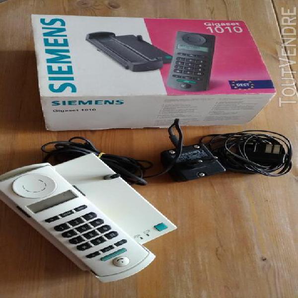 Siemens téléphone répondeur sans fil siemens gigaset
