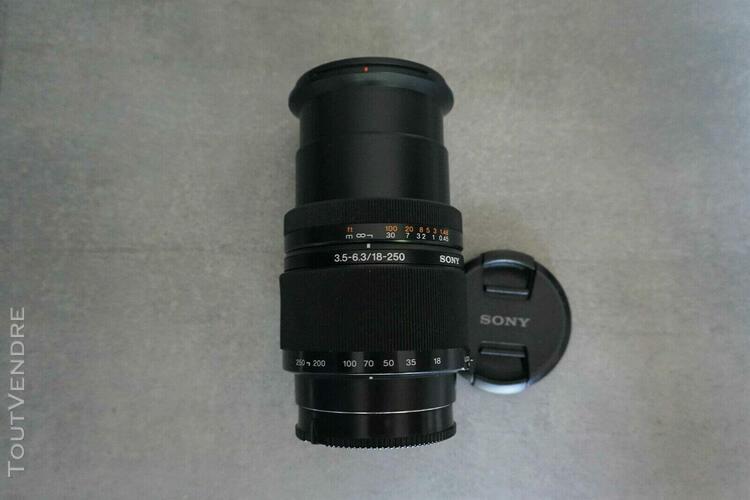 Sony 18-250mm 1:3.5-6.3 af dt /fe 24x36= 27-375 mm