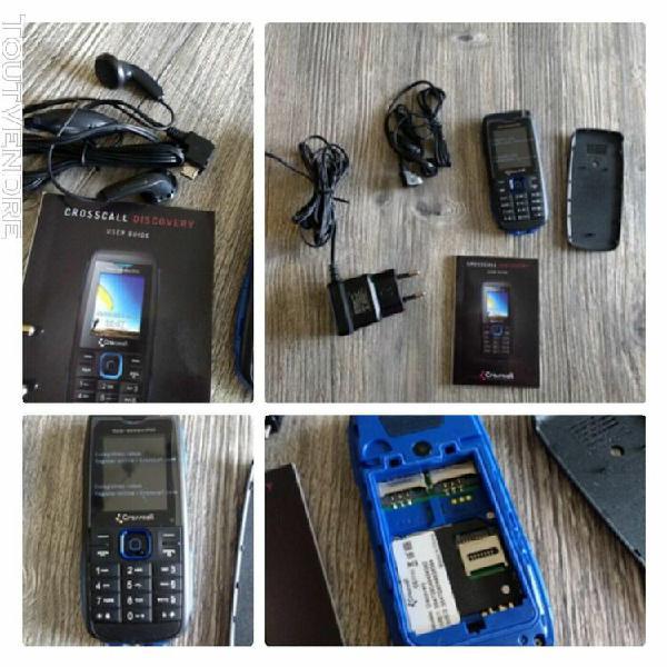 Téléphone portable crosscall discovery neuf double sim