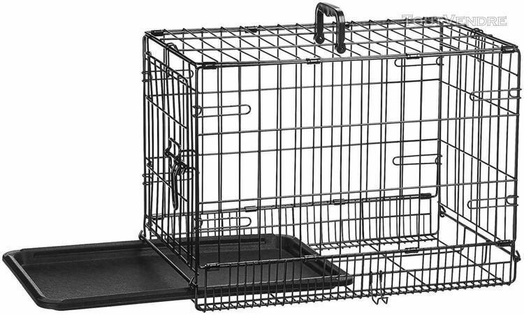 cage métal pliante d'éducation chiens 1