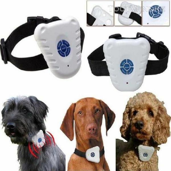 dispositif anti-aboiements d'animal de compagnie ultrasoniqu