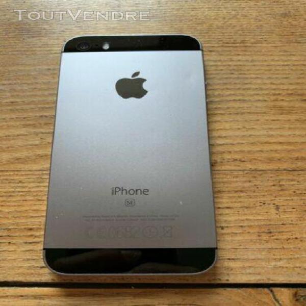 Iphone se 16go gris sidéral