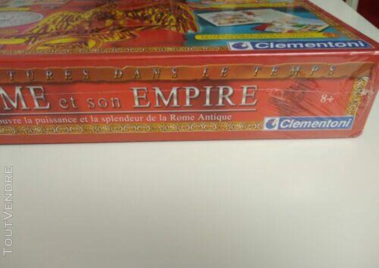 Jeu de société - rome et son empire - clémentine - neuf