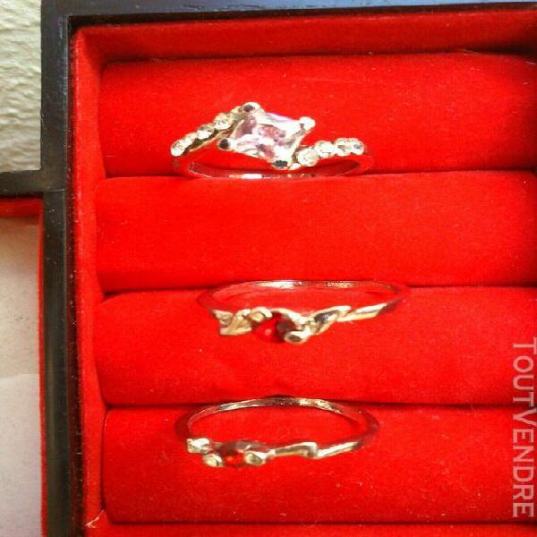 Lot bijoux argent et plaqué or neuf 20 grammes