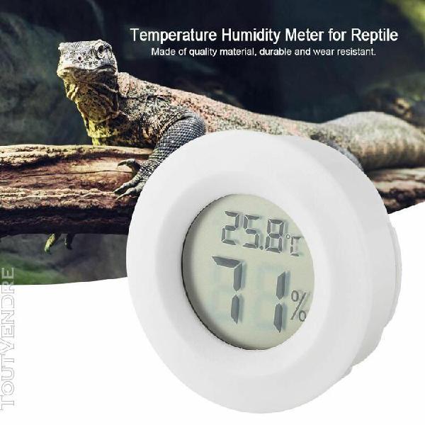 mini thermomètre digital lcd hygromètre forme ronde