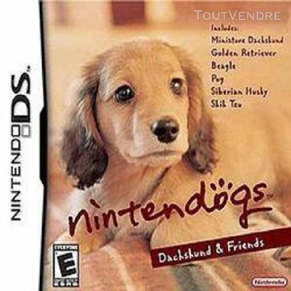 Nintendogs - dachshung & friends
