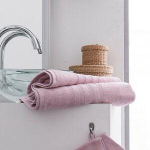 Parure de bain 2 serviettes de toilette + 2 draps de bain