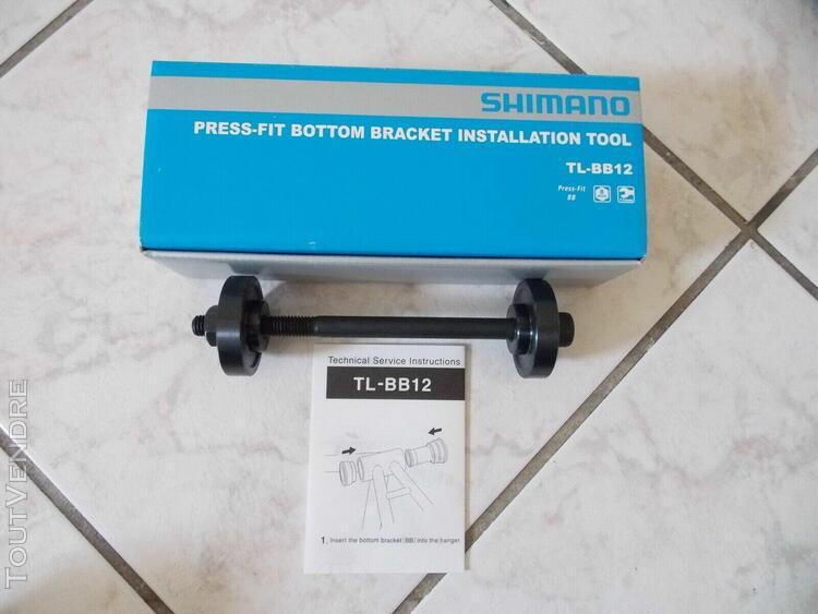 Press-fit bottom bracket installation tool shimano tl-bb12 /