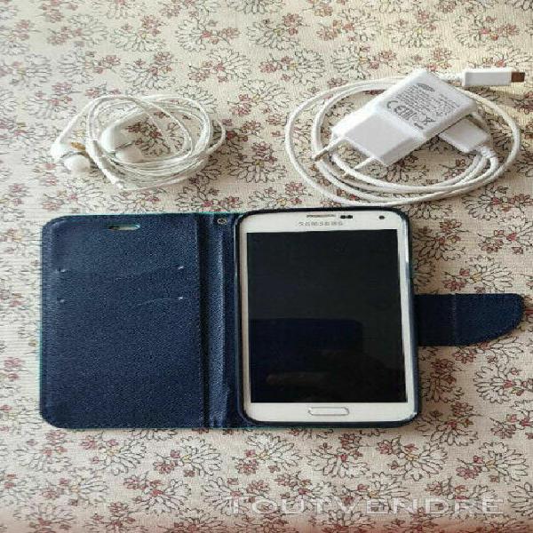 Samsung galaxy s5, blanc, 16go, désimbloqué