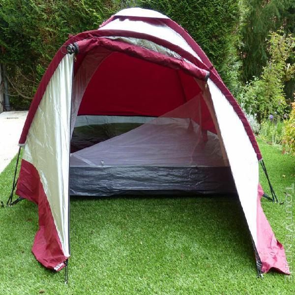 OCCASION Yukatana Cenote tente de camping 3 places dôme polyester