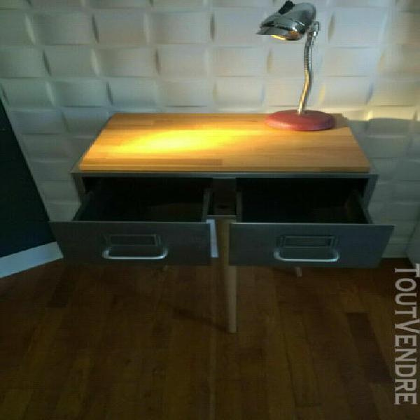 Vintage gueridon / sellette industriel - loft - atelier - de