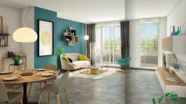 Duplex t3 de 54m² + 2 terrasses de 7m² et 6m²