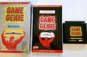 Game genie pour sega mega drive: interface, livre de codes