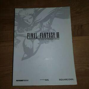 Guide officiel final fantasy 3 iii ds 3ds