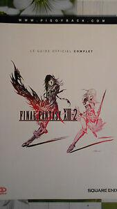 guide officiel final fantasy xiii-2 playstation 3 ps3 ff13-2