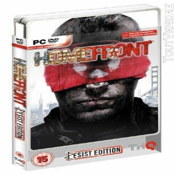 homefront - resist edition (steelbook) [import anglais] [jeu