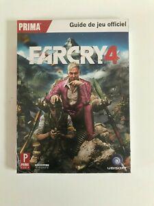 livre guide de jeu officiel prima farcry 4 neuf sous