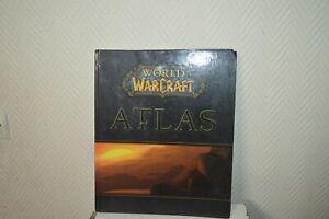 Livre guide world of warcraft wow atlas book blizzard