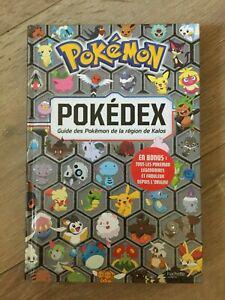 Livre pokemon pokedex guide des pokemon de la region de