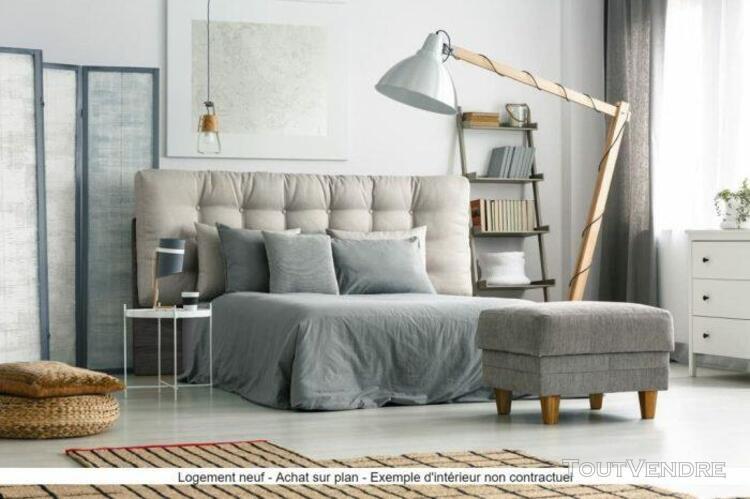 Lyon 8   appartement neuf t3 rez-de-jardin de 62 m²