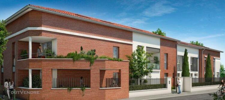 Magnifique t3 de 64,97 m² avec terrasse de 5 m², jardin de