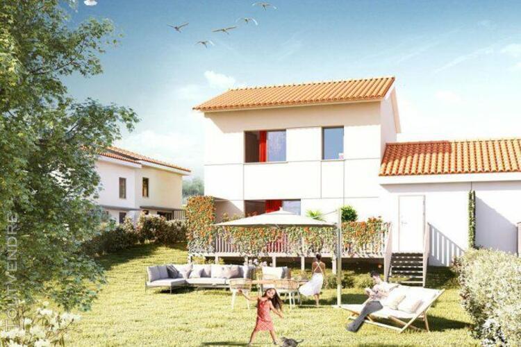 Maison de type 3 de 64,05 m² avec terrasse de 6 m², jardin