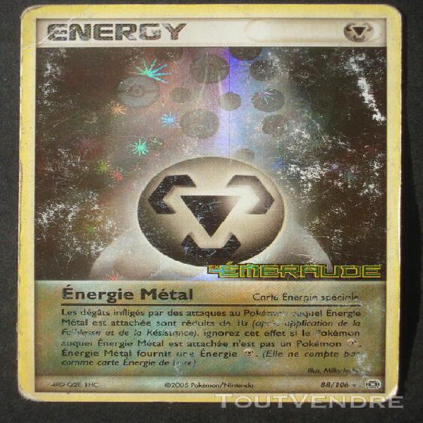 reverse Énergie métal - pokemon - ex emeraude 88