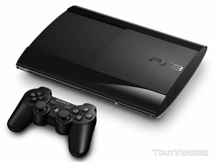 Sony ps3 noire 500 go