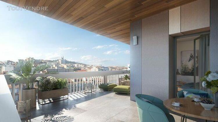 Studio de 21,57 m² avec terrasse de 9,11 m² - 13006