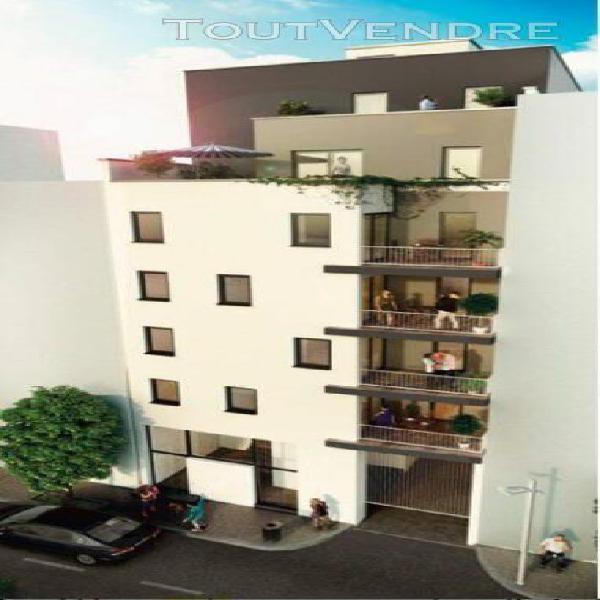 T3 de 57,43m2 avec sa terrasse de 6,67m2 et son parking en s