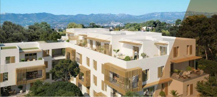 T4 de 71.24 m² avec terrasse de 8.36 m² et place de