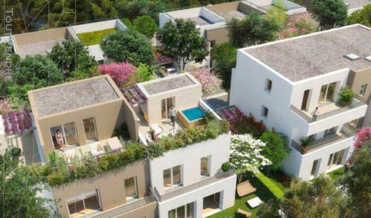 Villa t4 en triplex de 99,76 m² avec trois terrasses, un