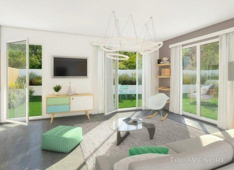 Villa t5 en triplex de 106,74 m² avec trois terrasses et un