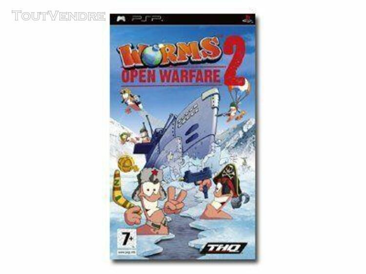 worms open warfare 2 - ensemble complet - playstation portab