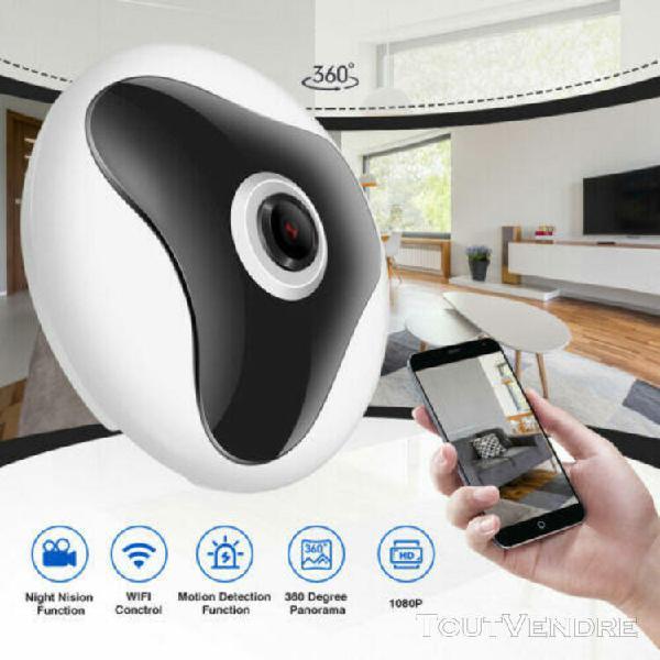 2.0mp wifi ip caméra surveillance 1080p hd 360° détection
