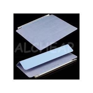 Smart cover + pied 2en1 apple ipad 2 bleu velour