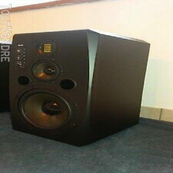 Adam audio s3x-v 3-way active studio monitors pair