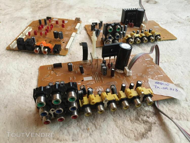 Onkyo pioneer pièces d'ampli hc, jack, alimentation,