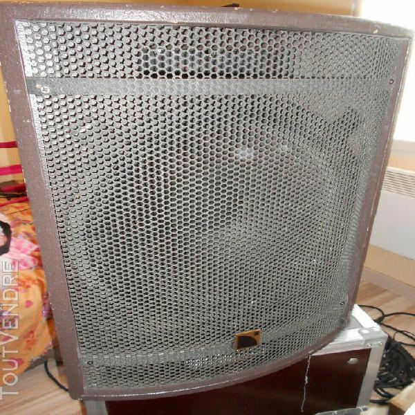 Sonorisation système l-acoustics 2 hp mtd115a + 2 amplis