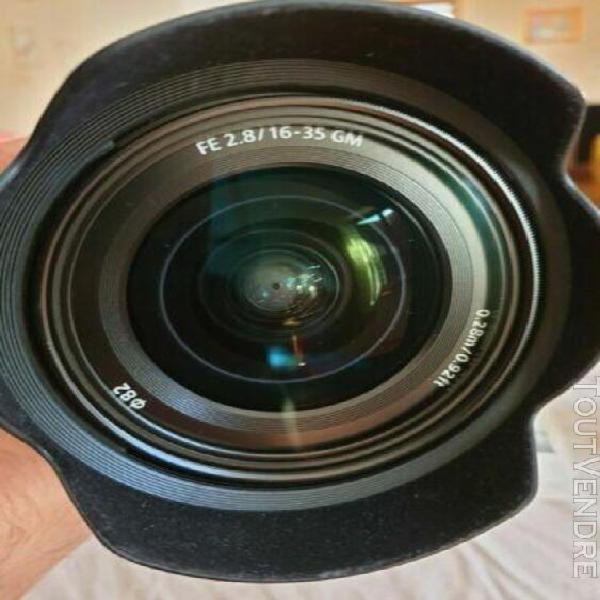 Véritable sony fe 16-35mm f/2.8 gm full frame e-mount lens