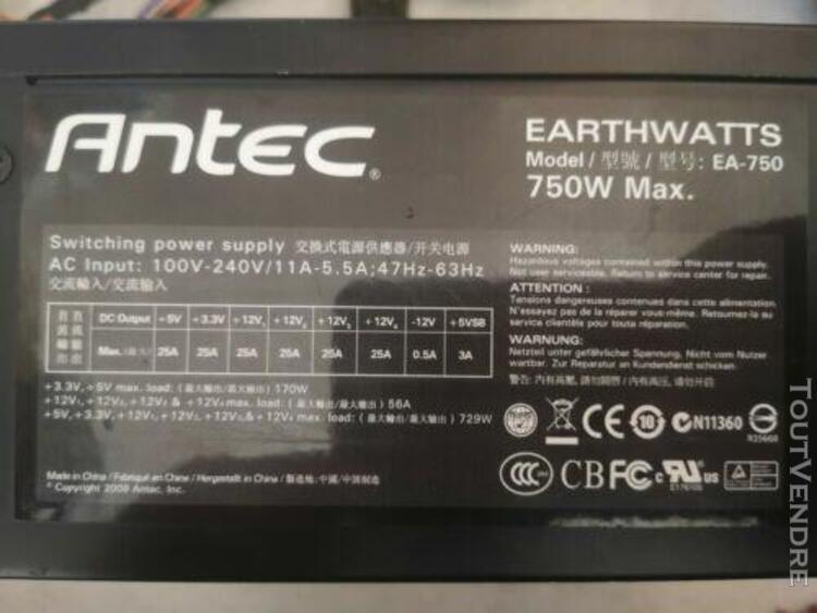 Antec earthwatts ea750 750w