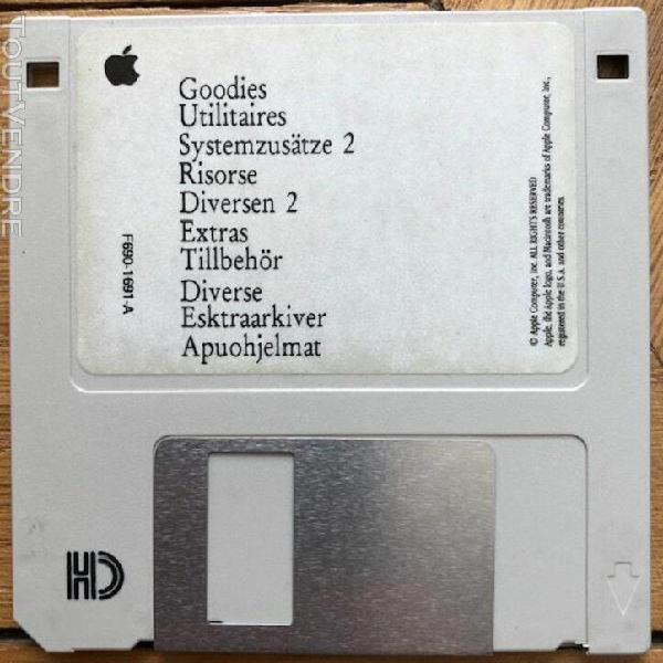 Apple utilitaires macintosh